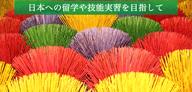 日本への留学や技能実習を目指して